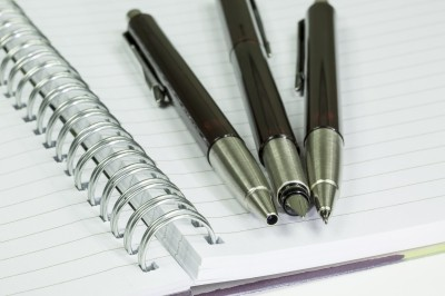 Notepad And Three Pens by LeeGillion