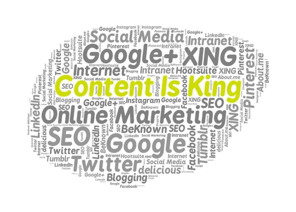 Content king Pinterest